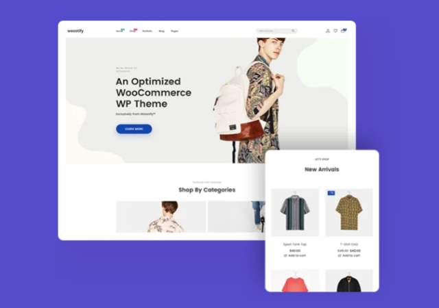 An Optimized WooCommerce Theme